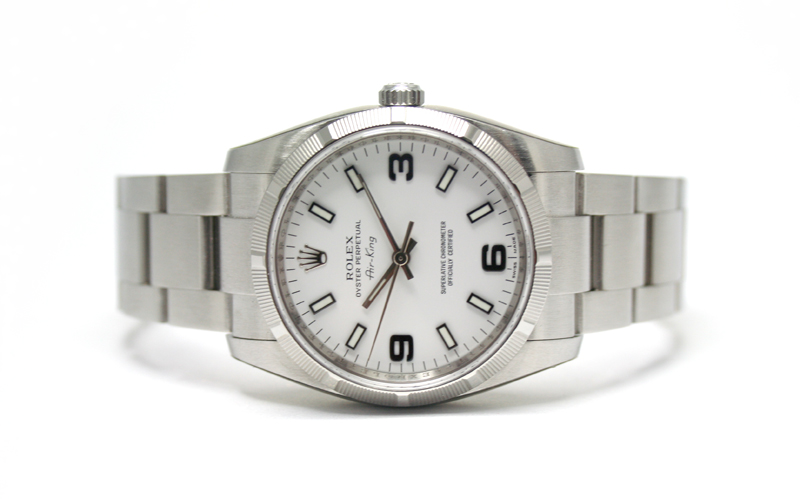 Air-King-White-Rolex-Copy-Watches