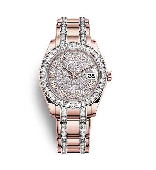 The wonderful fake Rolex Pearlmaster 39 86285 watches are worth for ladies.