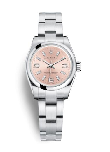 The 26 mm replica Rolex Oyster Perpetual 26 176200 watches are designed for females.