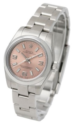 The sturdy fake Rolex Oyster Perpetual 26 176200 watches are made from Oystersteel.