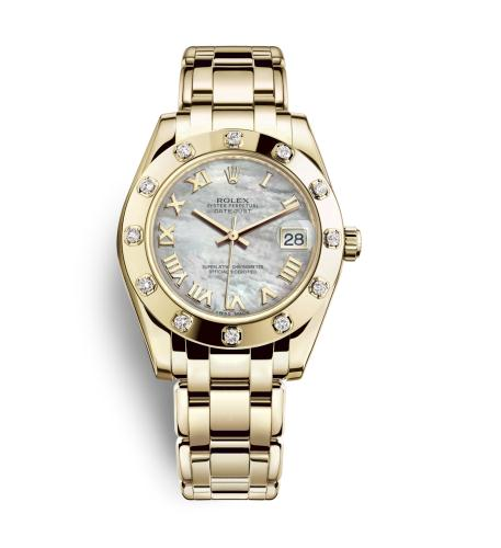 The high-class fake Rolex Pearlmaster 34 81318 watches are worth for you.