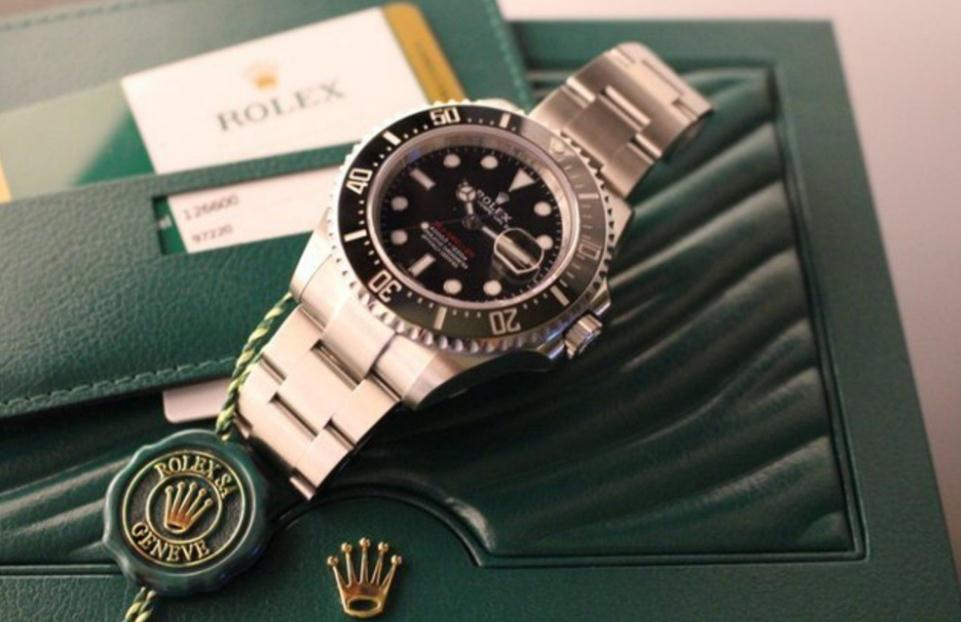 The sturdy fake Rolex Sea-Dweller 126600 watches are made from Oystersteel.