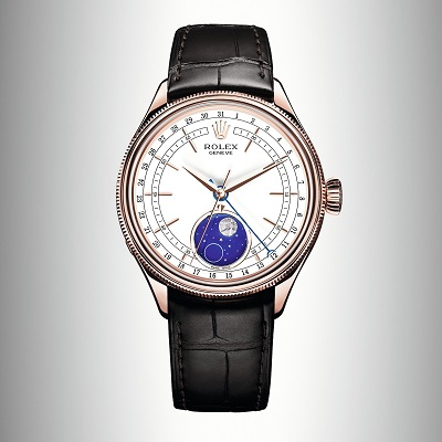 The luxury replica watches are mde from 18ct everose gold.