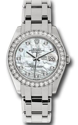 Forever knock-off watches ensure delicacy with mother-of-pearl dials.