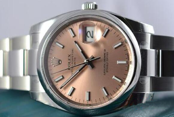Swiss replication watches online are attractive with pink color.